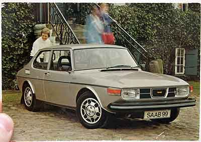 Saab cards and posters - Tommi's Saab Site