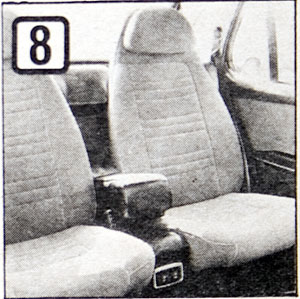 The back seat of some Finlandias were actually two front seats.