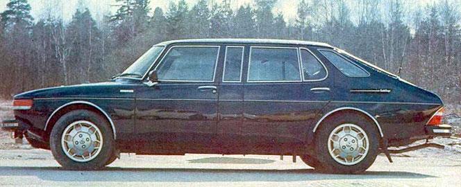Saab 99 Finlandia prototype 1976