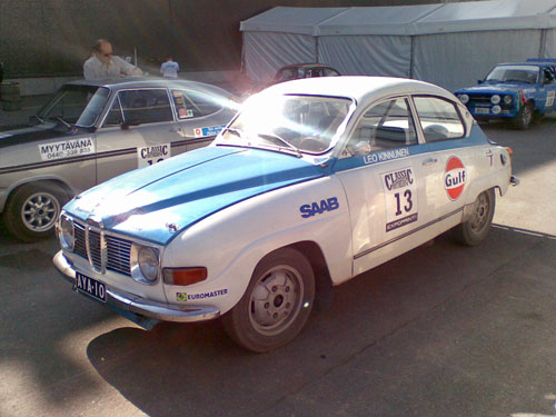 Saab 96 V4 1970 - Works rally car