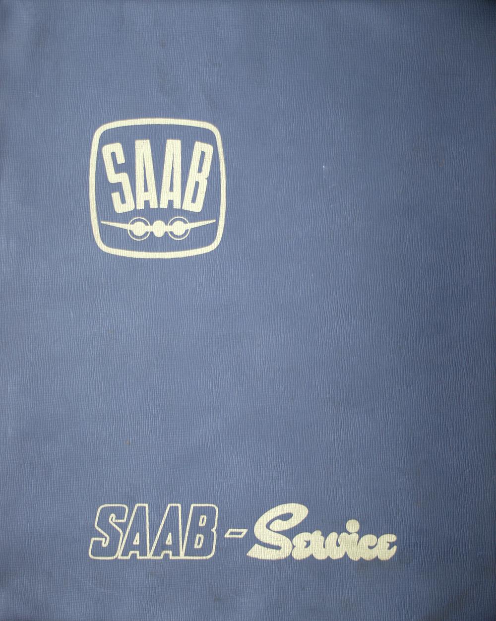 Saab 95-96 huoltotiedotteet 1962-1963