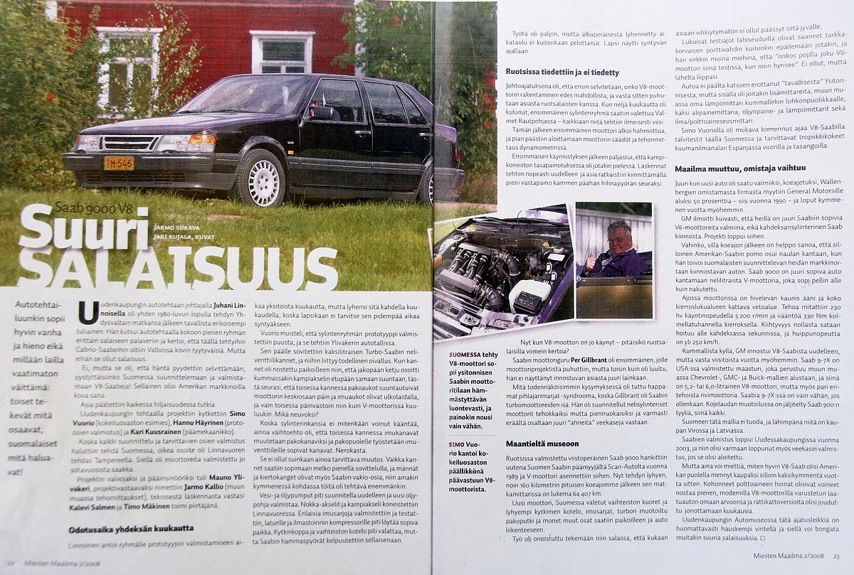 Saab 9000 V8i