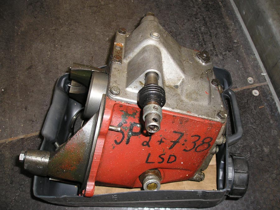 Special 2 gear box, steel casing - no differential
