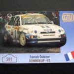 501.Francois-Delecour-Ford-Escort - SOLD OUT -