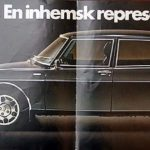 Saab 99 Finlandia brochure 1978. Note the missing small window.