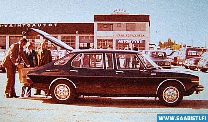 Saab 99 Finlandia production started in 1977.