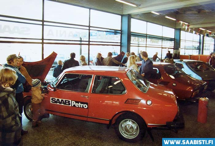Saab 99 Petro – dual fuel system