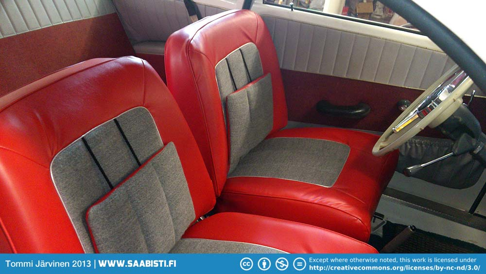 Saab Sport seats for the two stroke