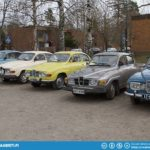 Beautiful Saab 96 V4s.