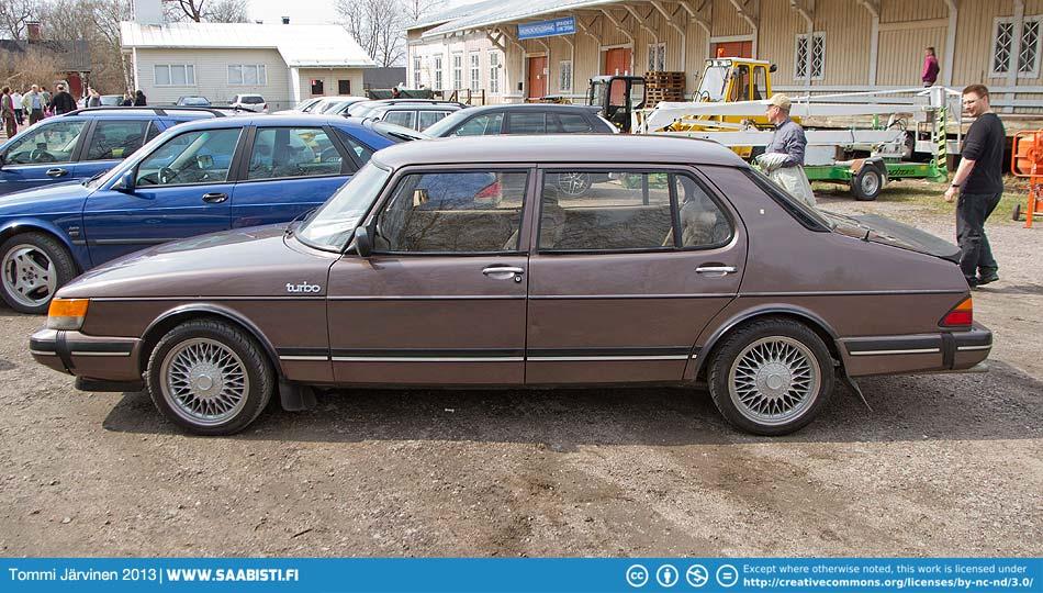 Saab 900 Turbo Finlandia.