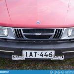 Saab 900 U.S. Front.