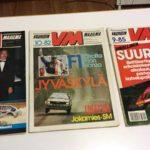 Vauhdin Maailma - VM. 6/86, 10/82, 11/83. 3 € / kpl tai tarjous.