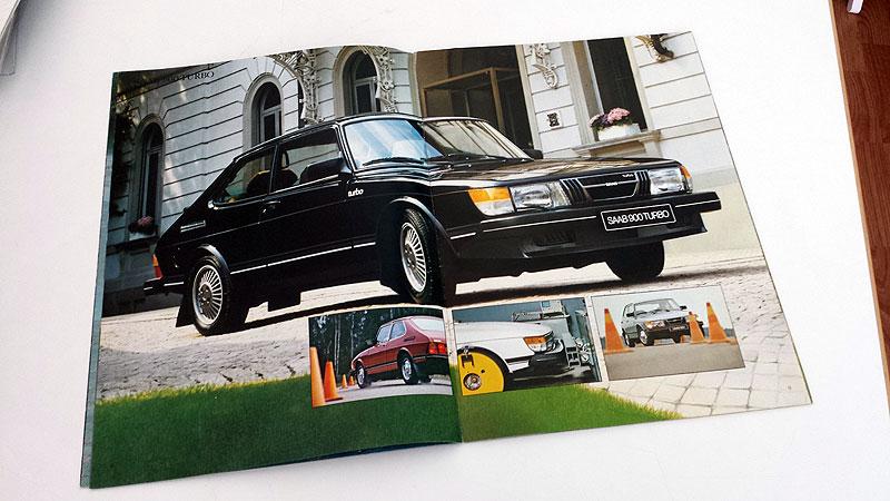 Saab 900 1981. A4 40s. 10 €
