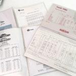 Saab hinnastoja sekä asiakaskirje. 3 €.