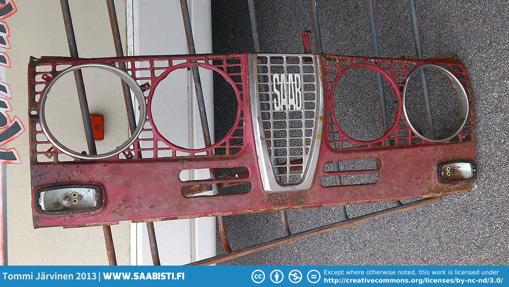 Extremely rare, original, longnose safari grille. Not for sale.