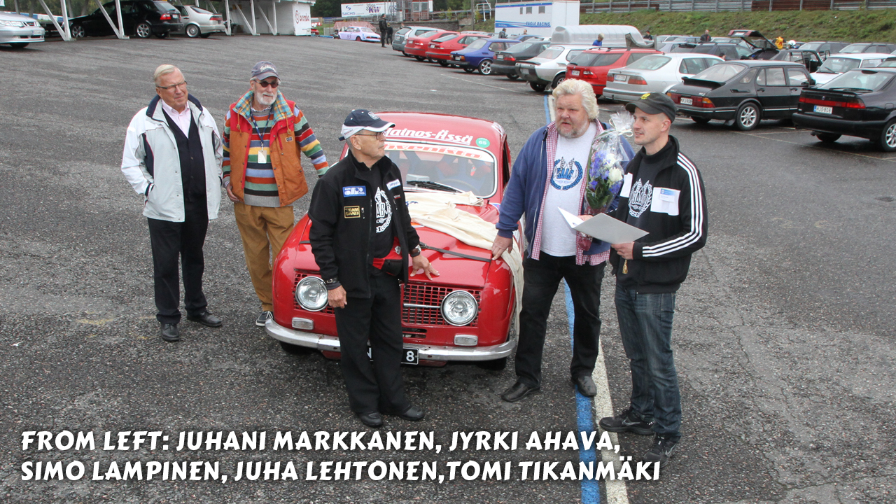 Saab-Club Of Finland track day with Simo Lampinen – video