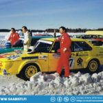 The first ever Turbo M series race was actually at winter and driven on lake ice track.
