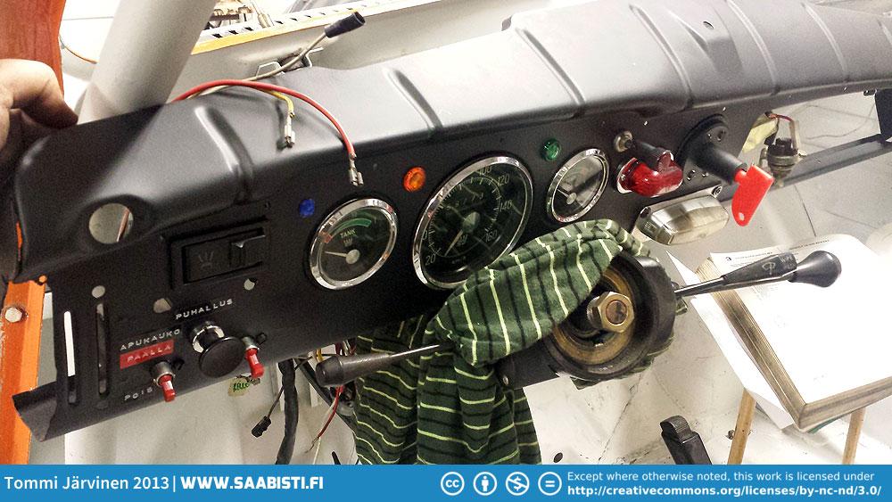 Saab V4 Rally – electrical system