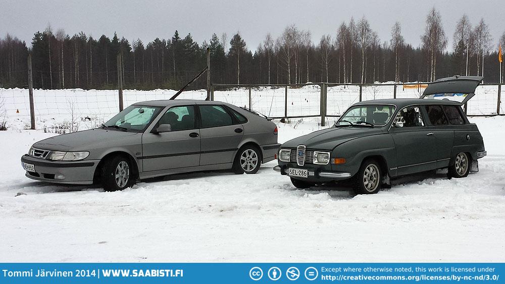Saab Club Finland Winter Meet