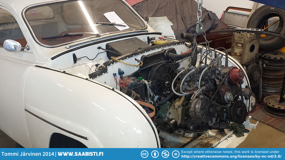Steering rack problems – two-stroke – Tommi's Saab Site