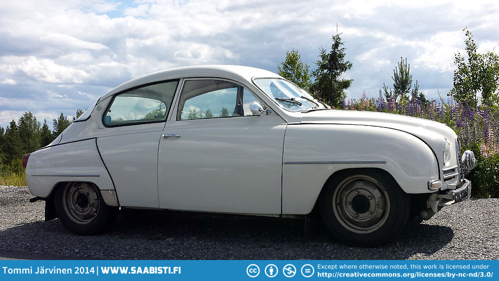Saab 96 Sedan 1964 – two-stroke