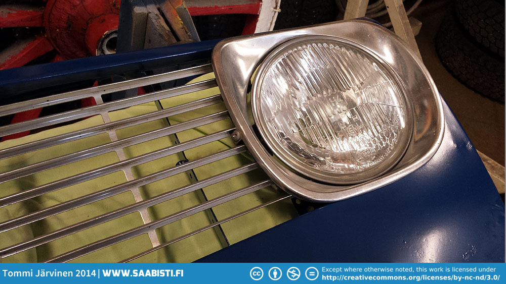 Saab Sport&Rally Grille restoration