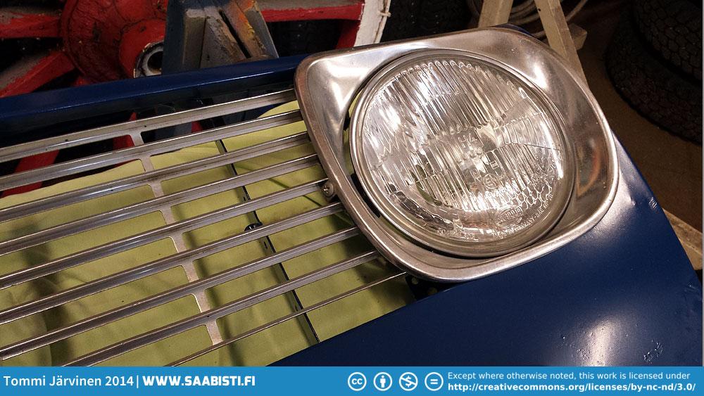 Saab Sport&Rally Grille restoration