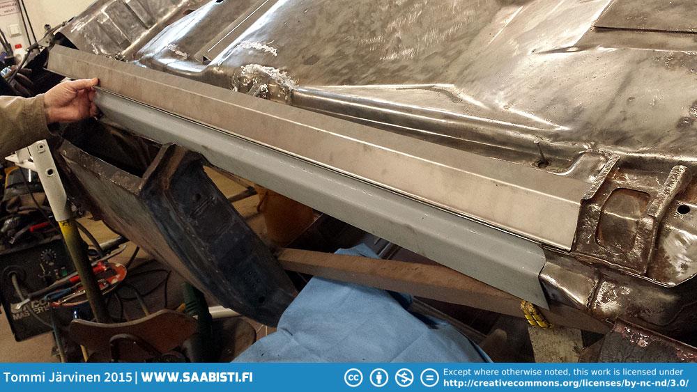 99T part 5 – new sheet metal for the rocker panels