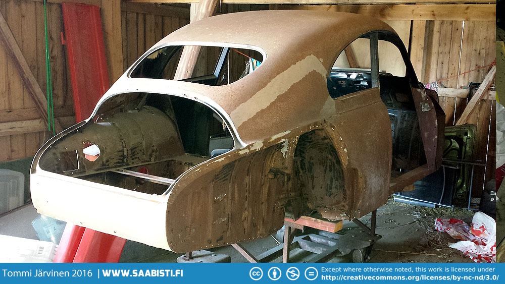 Saab 93B DeLuxe 1959 – Barn Find Basket Case
