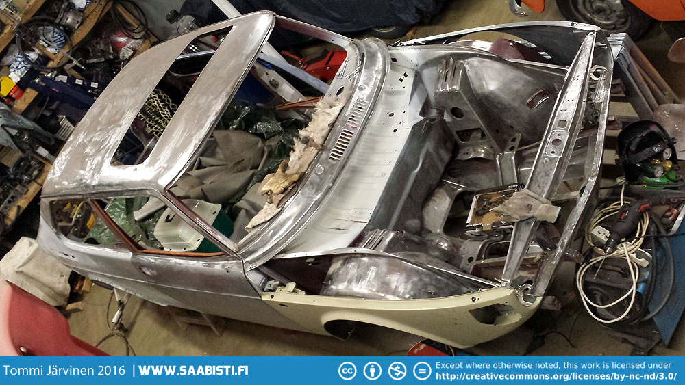 Saab 99 Turbo part 10- Corrosion repair almost done
